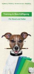 Hundeschule - Hundetrainer - Flyer