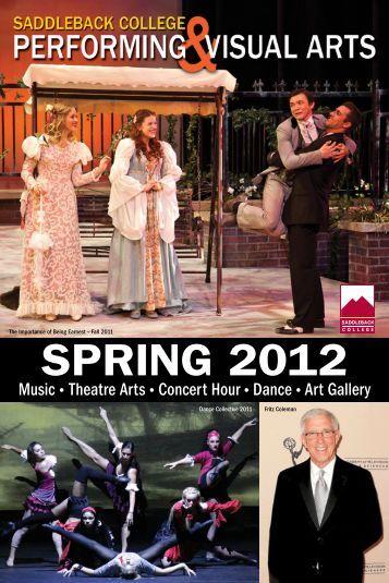 SPRING 2012 - Saddleback College