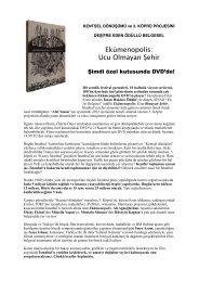 Ekümenopolis: Ucu Olmayan Şehir - Sadibey