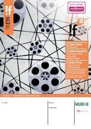 12. If İstanbul Uluslararası Bağımsız Filmler Festivali ... - Sadibey