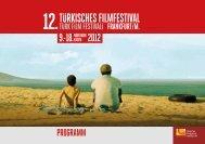 PROGRAMM - Türkisches Filmfestival Frankfurt / M.