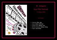 II. Sinepark Kısa Film Festivali 7-9 Mayıs 2008 - Sadibey