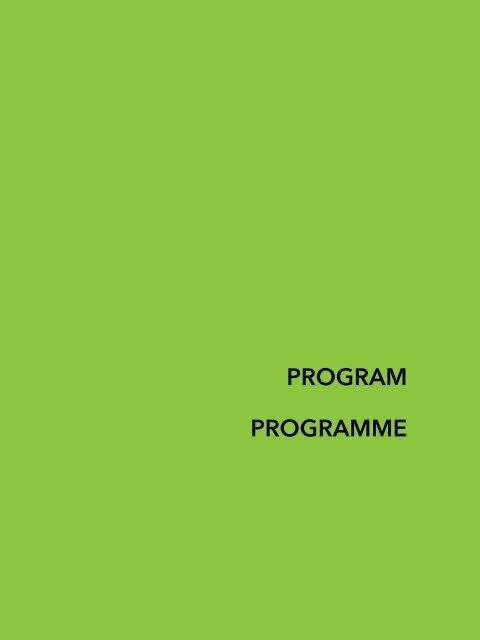 PROGRAM PROGRAMME - Sadibey