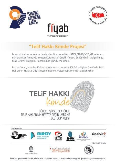 Telif Hakkı Kimde Projesi - Sadibey