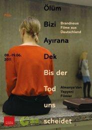 Ölüm Bizi Ayırana Dek / Bis Der Tod Uns Scheidet (Broşür) - Sadibey