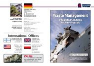 Waste Management Integrated Solutions for ... - Deerberg-Systems
