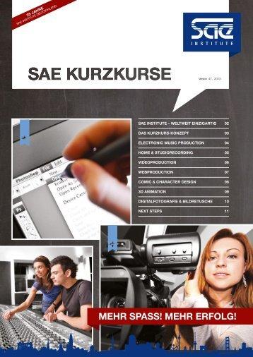 Formular - SAE Institute