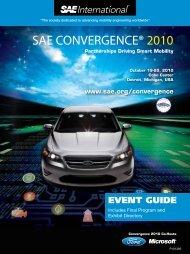 SAE CONVERGENCE® 2010