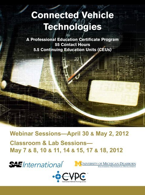 Connected Vehicle Technologies - SAE