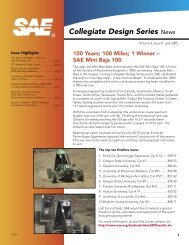 Collegiate Design Series - SAE