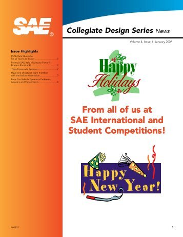 Issue Highlights - SAE