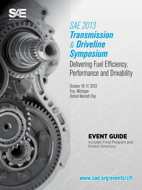 Download Event Guide - SAE International
