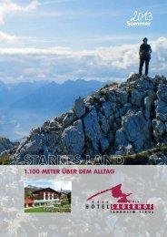 Sommerpreisliste 2013 als PDF - Hotel Sägerhof