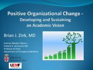 A Mission and Vision - The Society for Academic Emergency Medicine