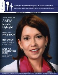 FACEBOOK Member Highlight - The Society for Academic ...