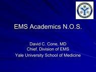 EMS Academics N.O.S. - The Society for Academic Emergency ...