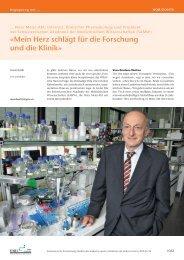 Mein Herz schlägt für die Forschung und die Klinik - Schweizerische ...