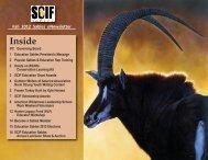 Inside - Safari Club International Foundation