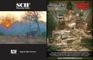 Spring 2012 Sables eNewsletter - Safari Club International Foundation