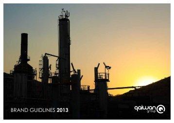 BRAND GUIDLINES 2013