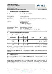 Sicherheitsdatenblatt gemäß 91/155/EWG - Eisenwerk Würth