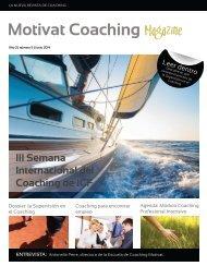 Motivat Coaching Magazine Num. 5 - Año 2014