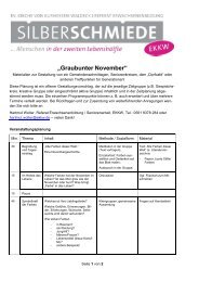 """""""Graubunter November"""" - Evangelisches Bildungszentrum Bad Orb"""