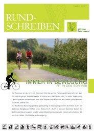 Rundschreiben der Südtiroler Bauernjugend Nr. 2 / 2014