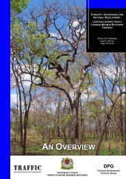 Forestry, Governance and National Development - Green Resources