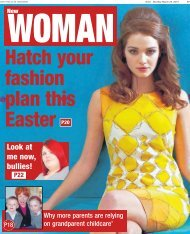 Echo New Woman 25 03 13 - Newsquest