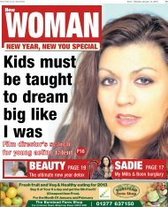 Echo New Woman 14 01 13 - Newsquest Media Group