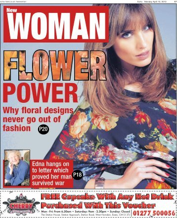 Echo New Woman 15 04 13 - Newsquest