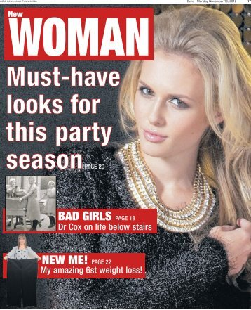 Echo New Woman 19 11 12 - Newsquest