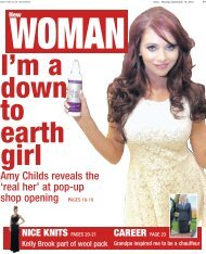 Amy Childs reveals the 'real her' at pop-up shop ... - Newsquest
