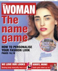 Echo New Woman 28 01 13 - Newsquest Media Group