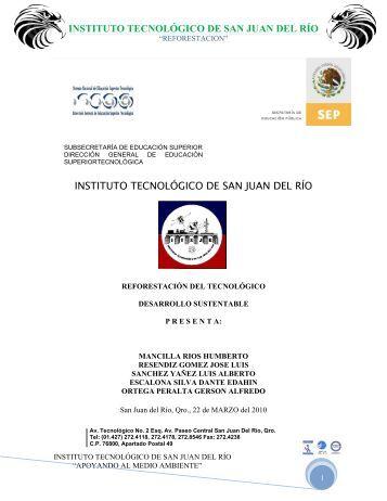 INSTITUTO TECNOLÓGICO DE SAN JUAN DEL RÍO ... - 350