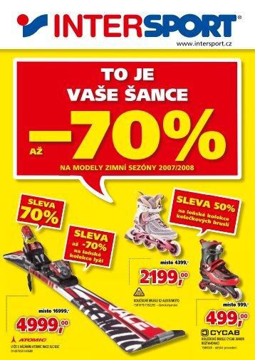 TO JE VAÅE ÅANCE - Intersport