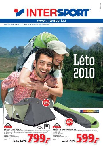 Spring 2010 Léto 2010 - Intersport