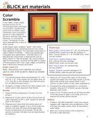 Color Scramble - Dick Blick - Dick Blick Art Materials