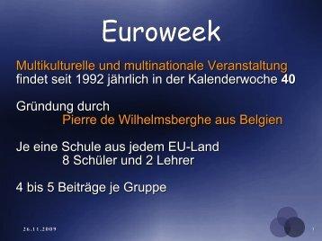 Euroweek - HTL-Rankweil