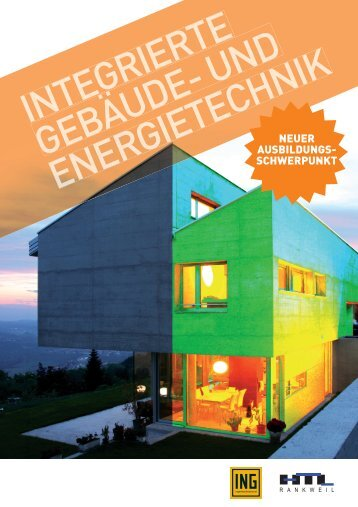 integrierte geBäude- und energietecHnik - HTL-Rankweil