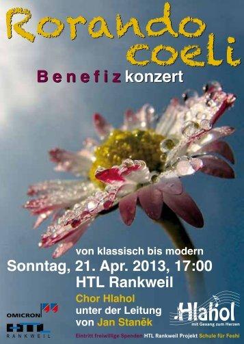 Konzertfolder - HTL-Rankweil