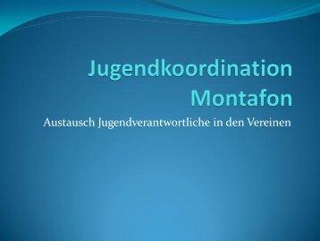 Jugendbeteiligung 2013 - Stand Montafon