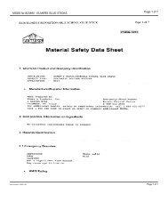 MSDS for #23890 - ELMERS GLUE STICKS - Dick Blick