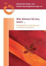 PDF-Datei (513 KB) - Ambulanter Hospiz- und Palliativ ...