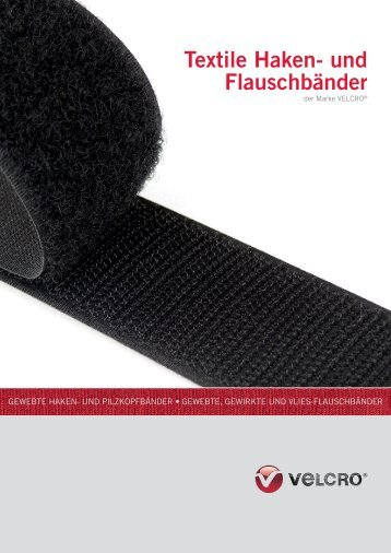 Textile Haken- und Flauschbänder - Knauf-Textil Großhandel