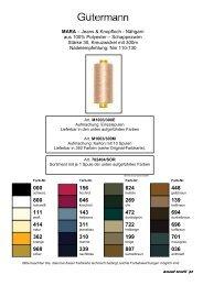 MARA – Jeans & Knopfloch - Nähgarn aus 100% Polyester ...