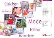 Handarbeiten - Knauf-Textil Großhandel