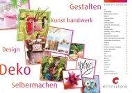Kreatives Gestalten - Knauf-Textil Großhandel