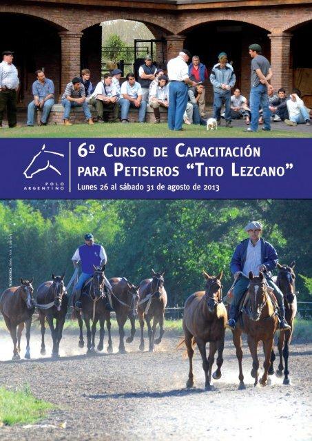 Cursos - Asociación Argentina de Criadores de Caballos de Polo